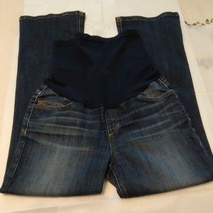 Joe's Maternity Cropped Jeans